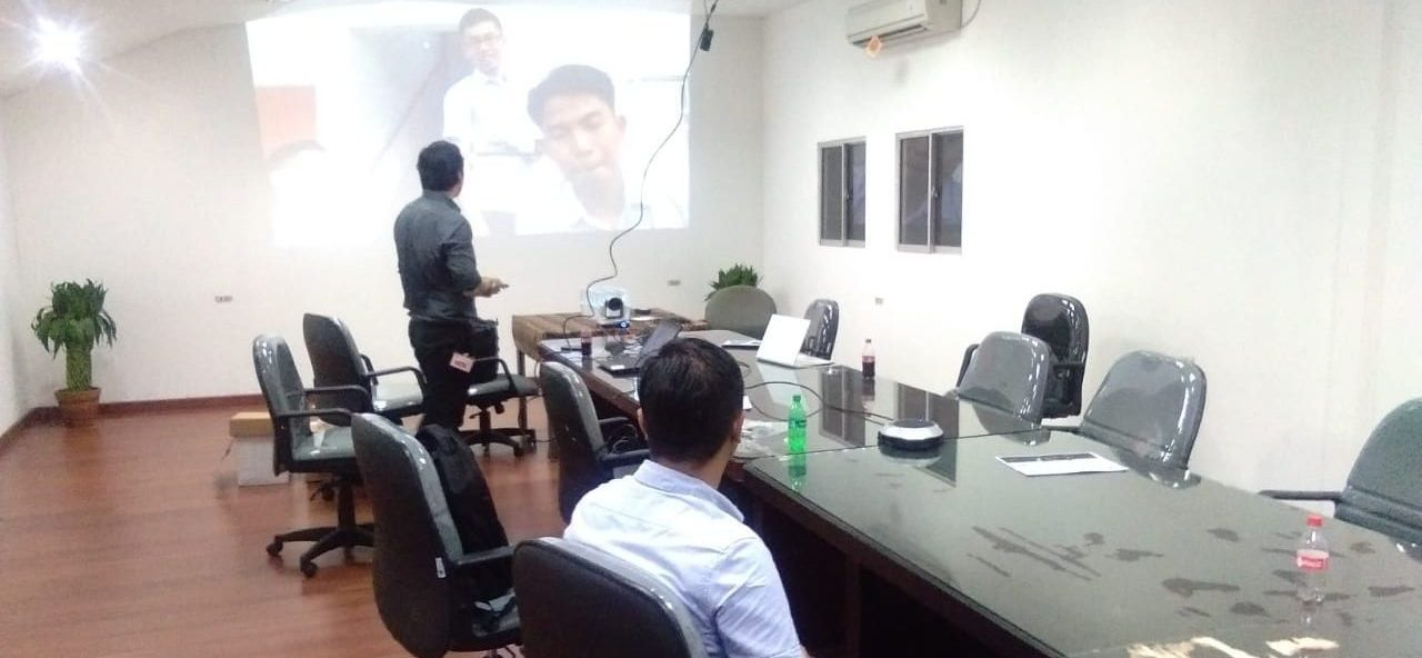 Video Conference – PT Luhai Industrial